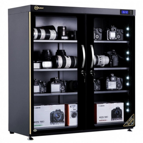 Nikatei Moisture Proof Cabinet NC-250S Gold