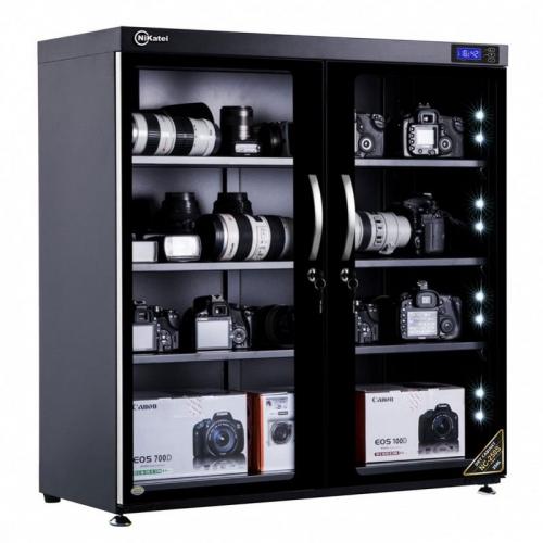 Nikatei Moisture Proof Cabinet NC-250S Silver