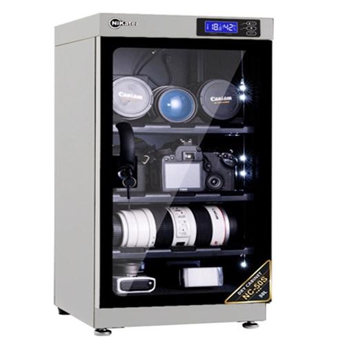 NIKATEI Moisture Proof Cabinet NC-50S Silver Plus